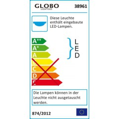 LED Lichterschlauch weiß 6m LIGHT TUBE 38961